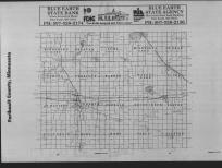 Index Map, Faribault County 1989